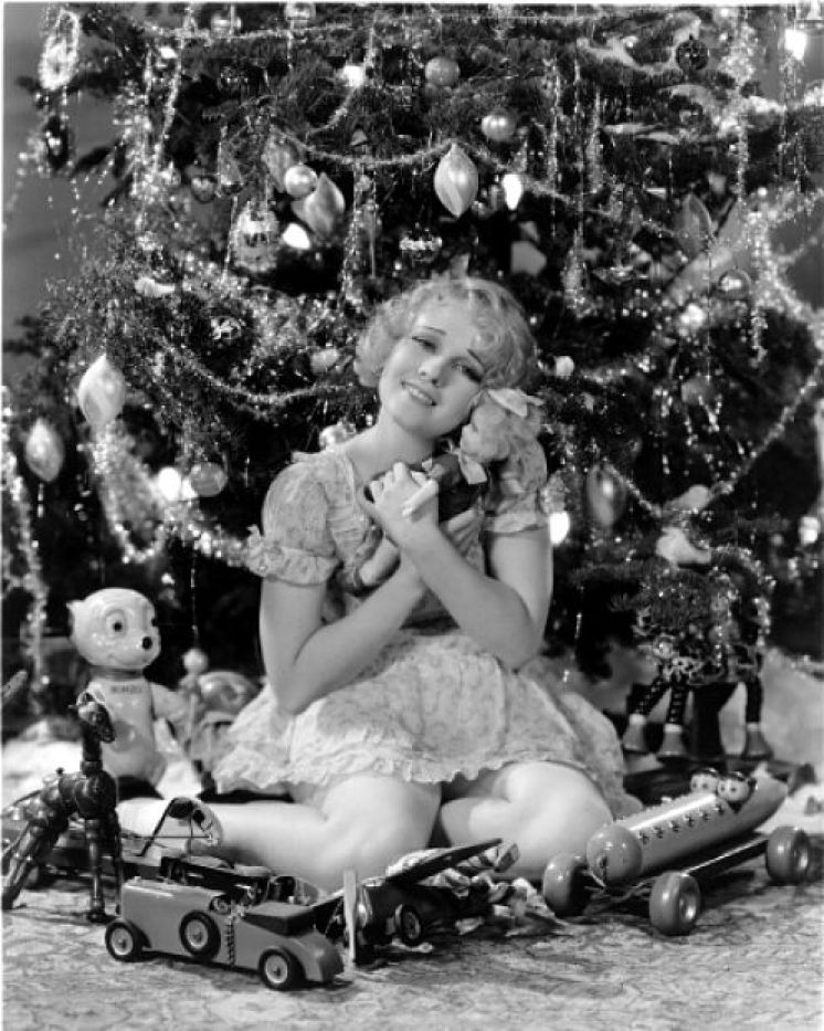 Anita Page vintage christmas