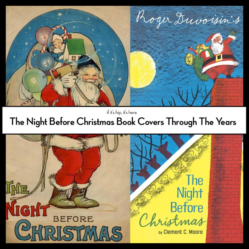 Twas The Night Before Christmas Book Covers On The Night Before