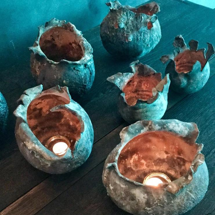 Candleholders by Ment