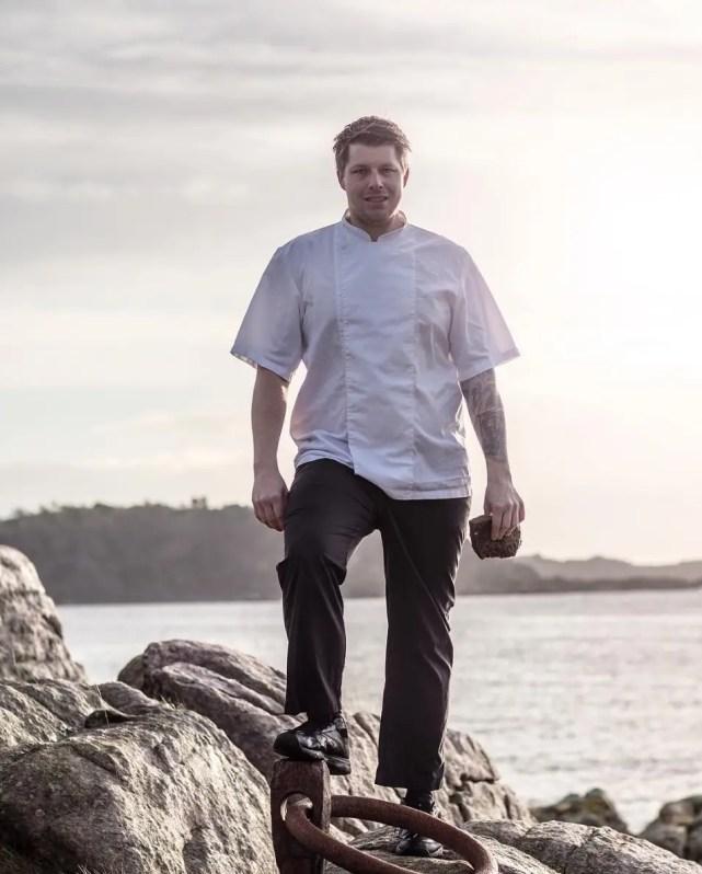 Head Chef Nicholai Ellitsgaard for Under