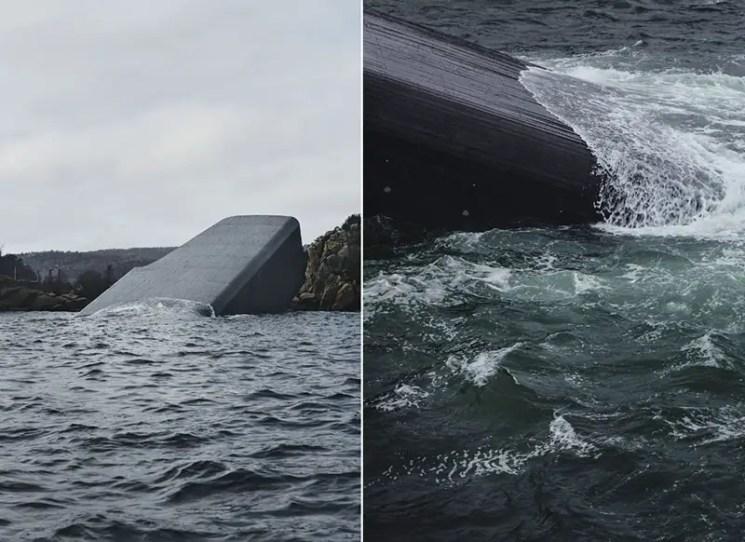 Norway's underwater restaurant