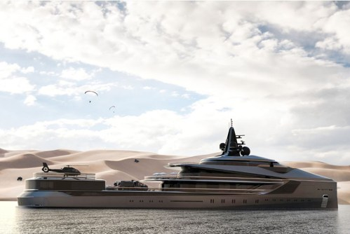 Read more about the article The Oceanco Esquel 105 Meter Expedition Yacht