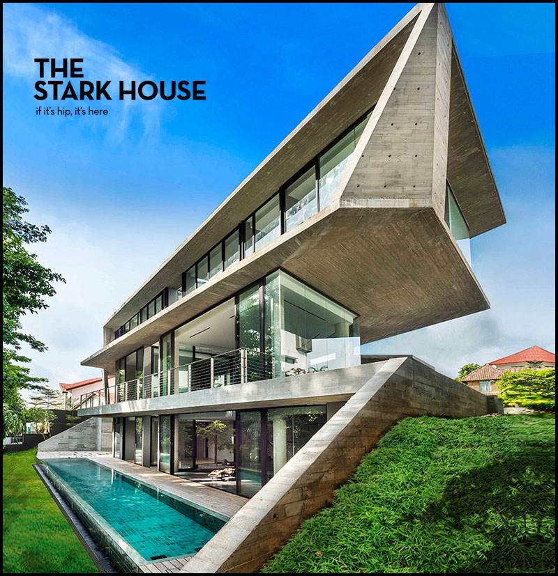 The Stark House In Singapore By Park Associates If It S Hip