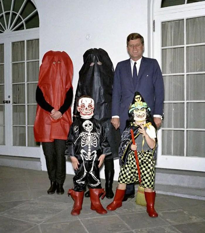 Jackie Kennedy's Black ghost halloween costume