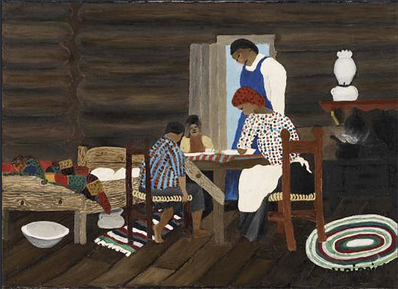 Horace Pippin, Giving Thanks, 1942