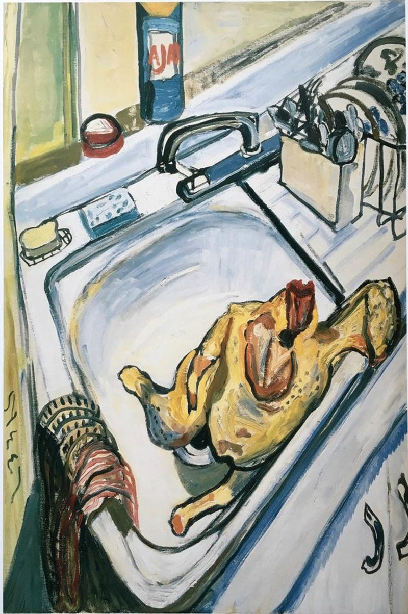 Alice Neel, Thanksgiving, 1967