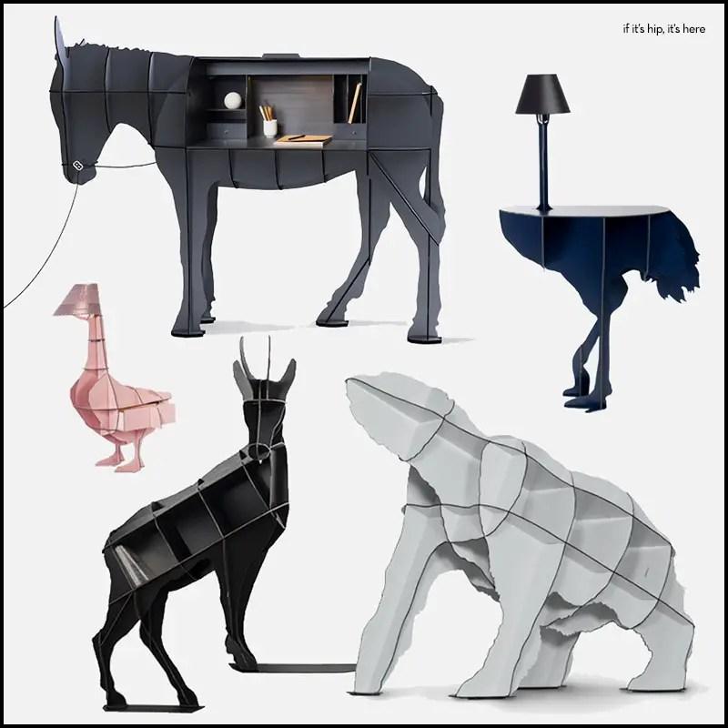 Animal-shaped furniture