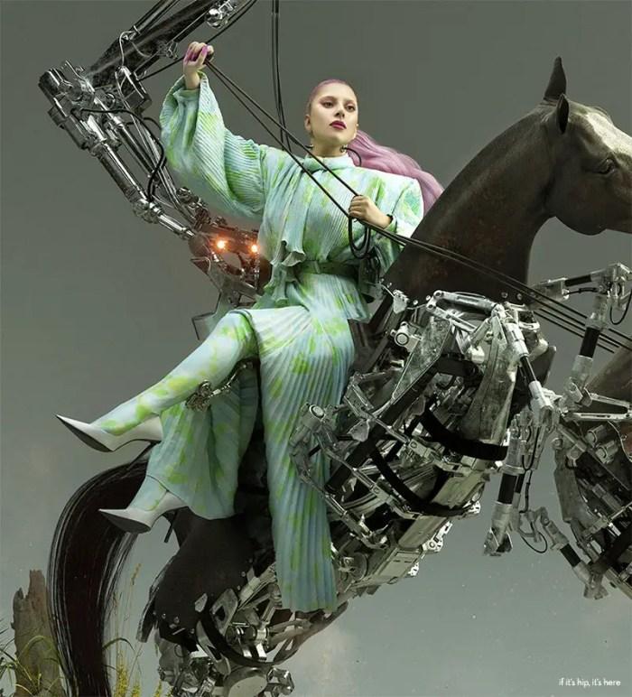 paper magazine Lady gaga transformation