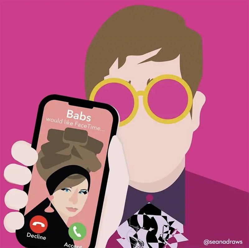 Social Distancing by Seanadraws