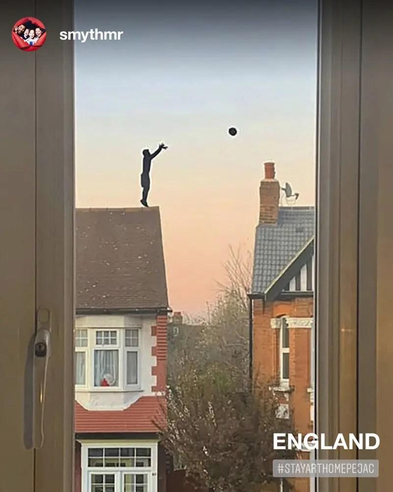 England window art