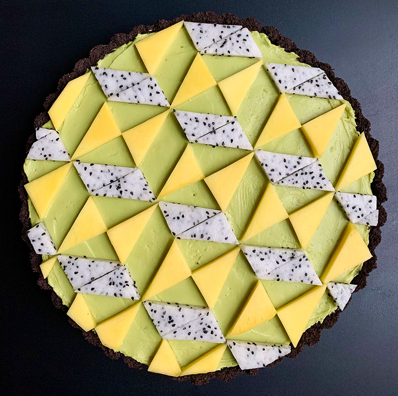 geometric pies