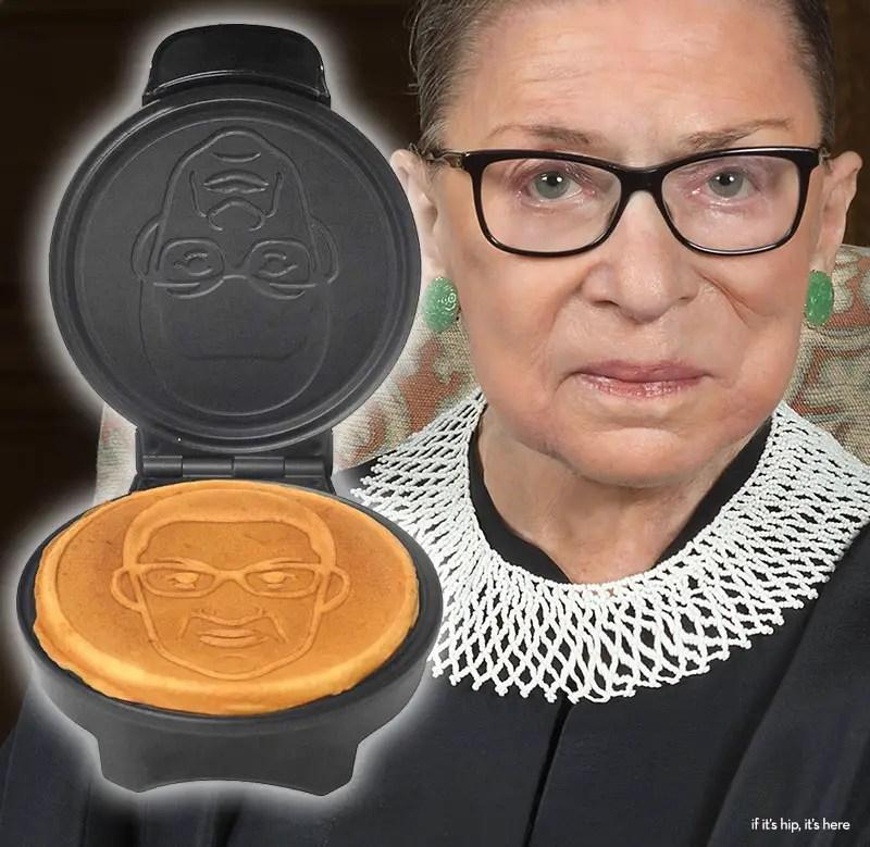 Ruth Bader Ginsburg waffle maker