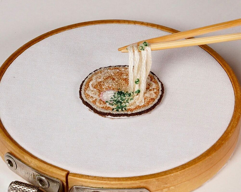 embroidered pho