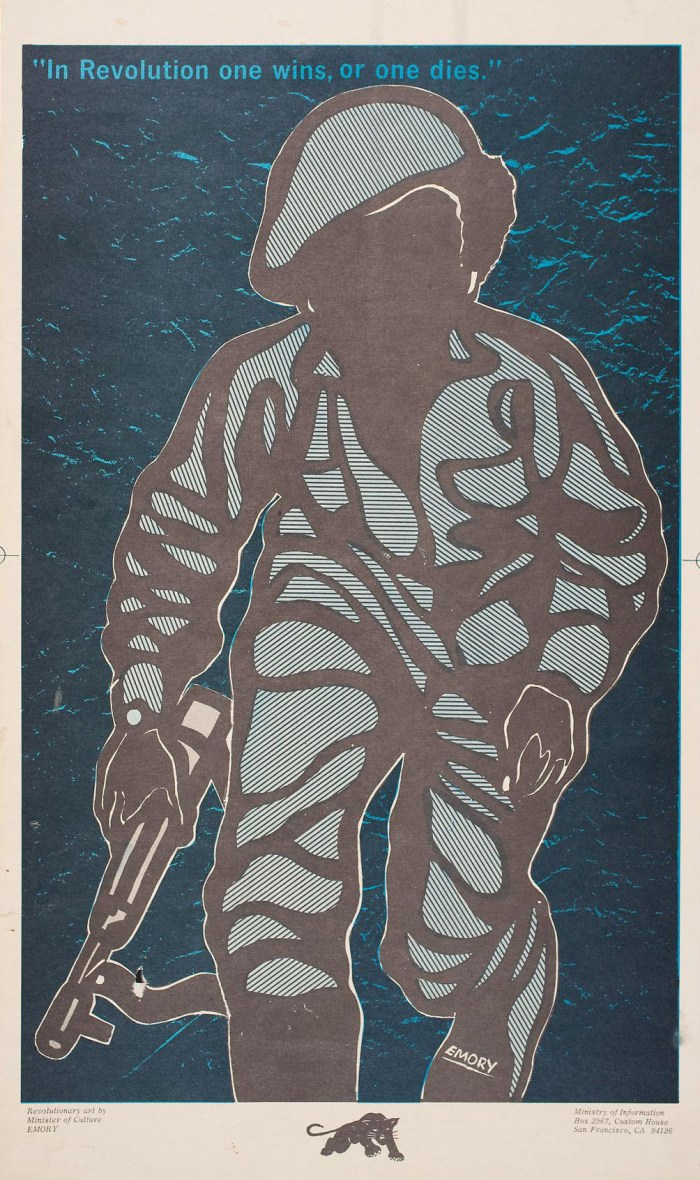 Emory Douglas In Revolution One Wins, or One Dies