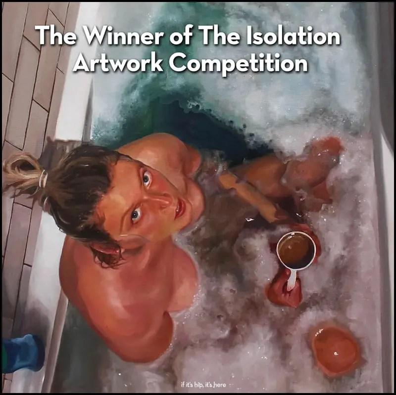 Abigail McGourlay Isolation Art Winner