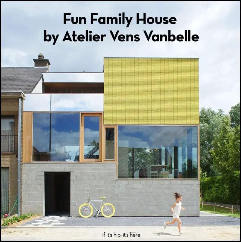 fun family home in belgium by atelier vens vanbelle