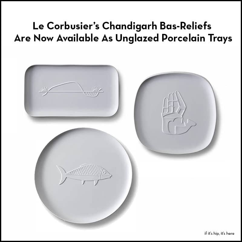 Le Courbusier Chandigarth Trays