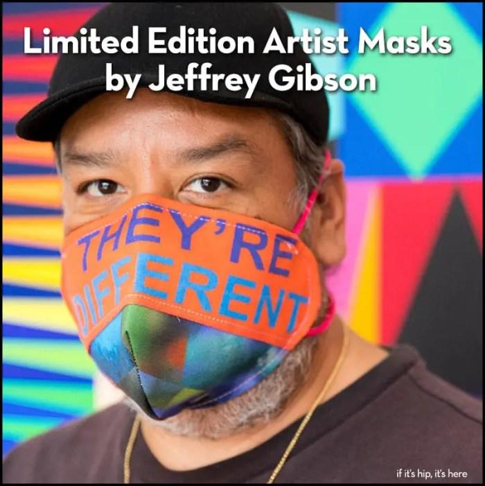 Limited Edition Kavi Gupta ✕ Jeffrey Gibson Face Masks