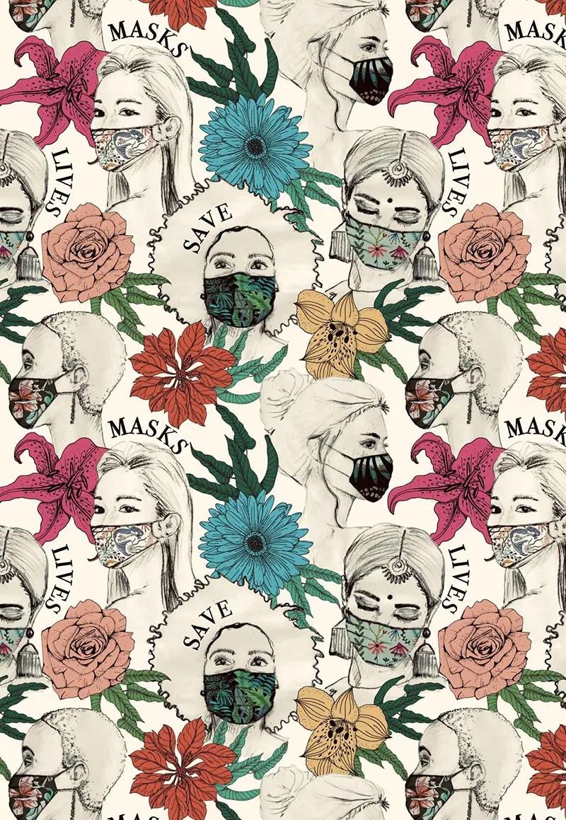 Nana Izique Masks Save Lives