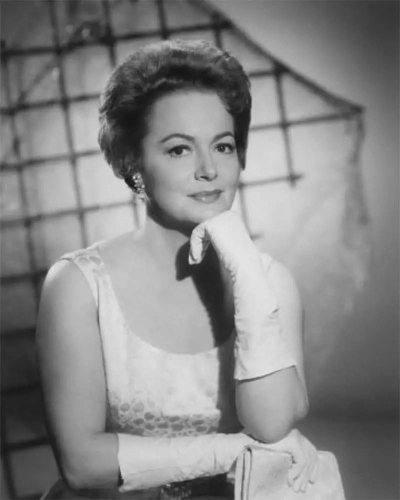 Olivia de havilland Photo by Mal Bulloch 1965