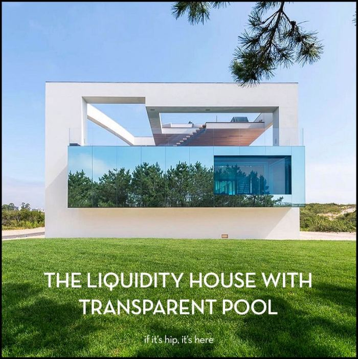liquidity house with transparent pool
