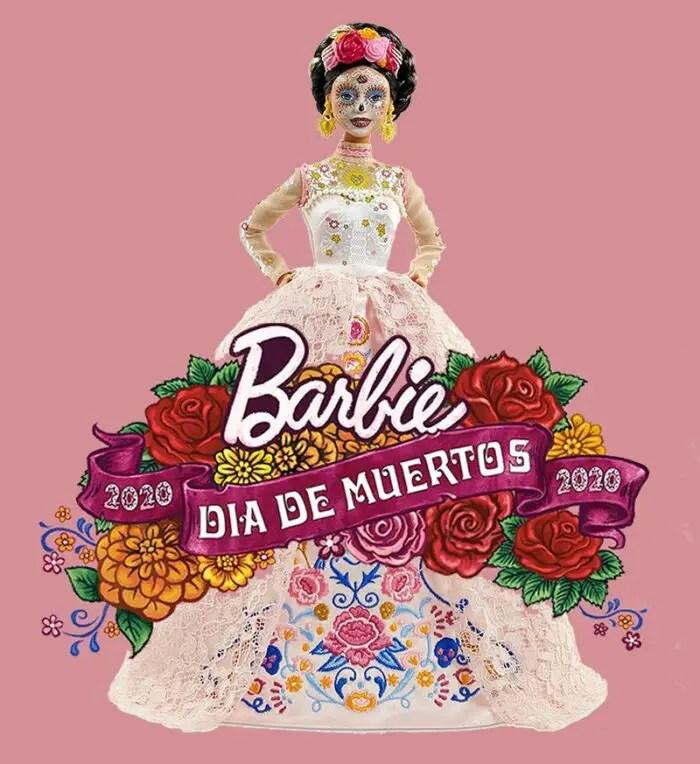 2020 dia de muertos Barbie