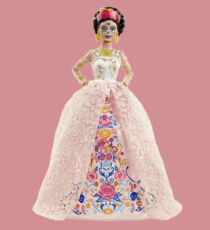 dia de meurtos 2020 Barbie 1