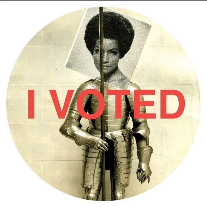 Lorna Simpson i voted