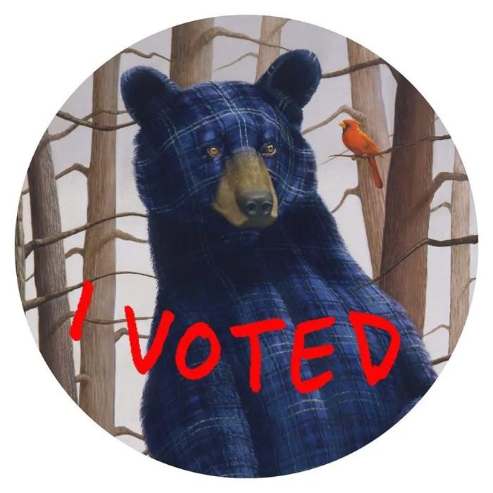 Sean Landers I voted