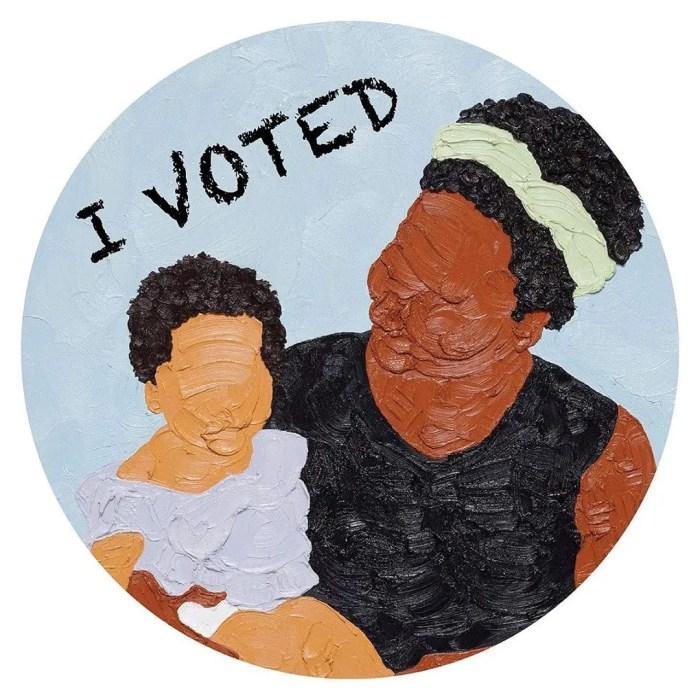 Shaina McCoy I Voted