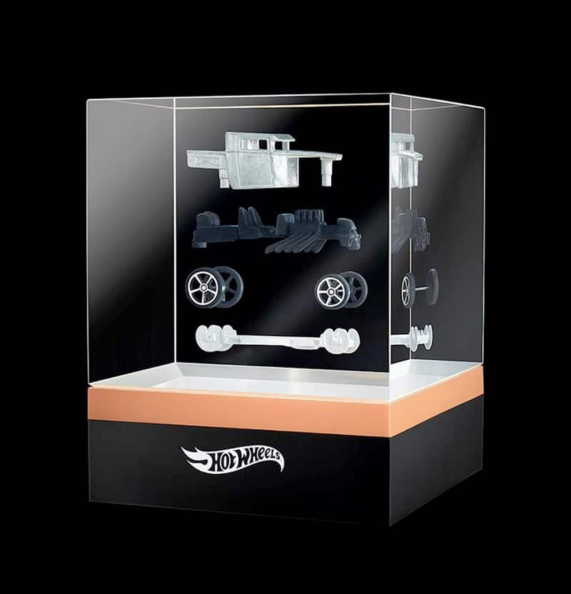 mattel creations hot wheel boneshaker 2 IIHIH