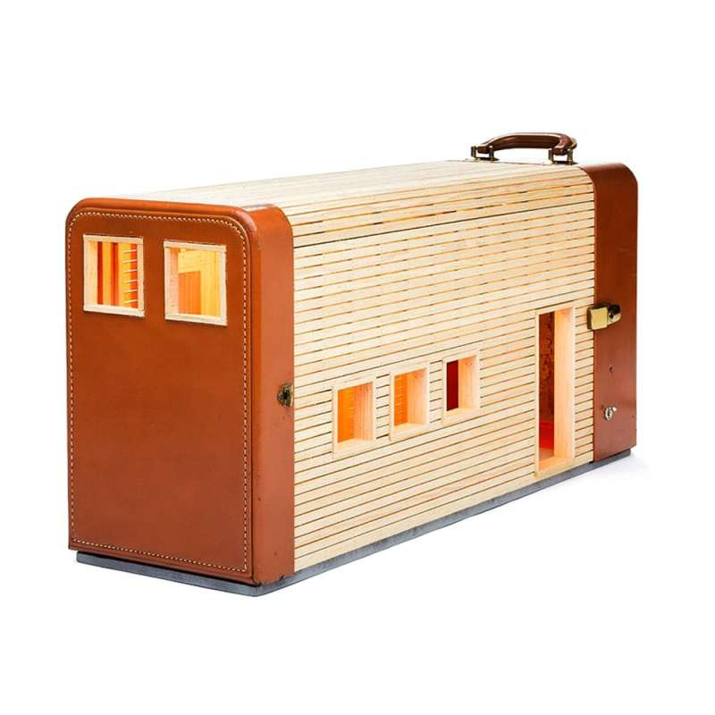 Ted Lott suitcases