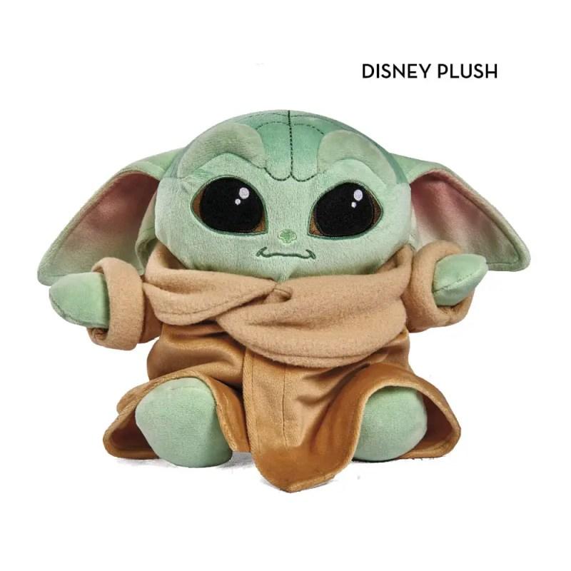 Disney plush baby yoda