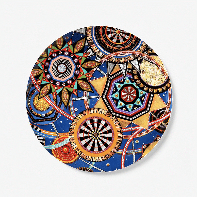 fred tomaselli plate