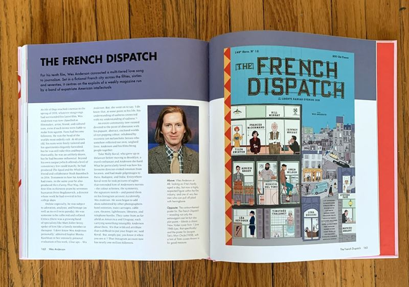 Wes Anderson the french dispatch spread