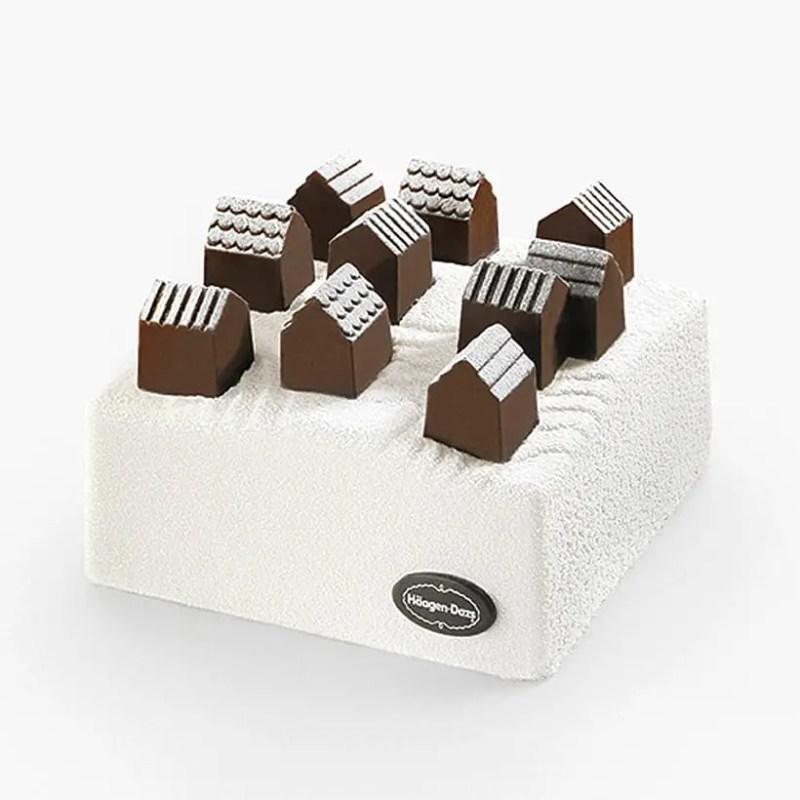 chocolate village nendo