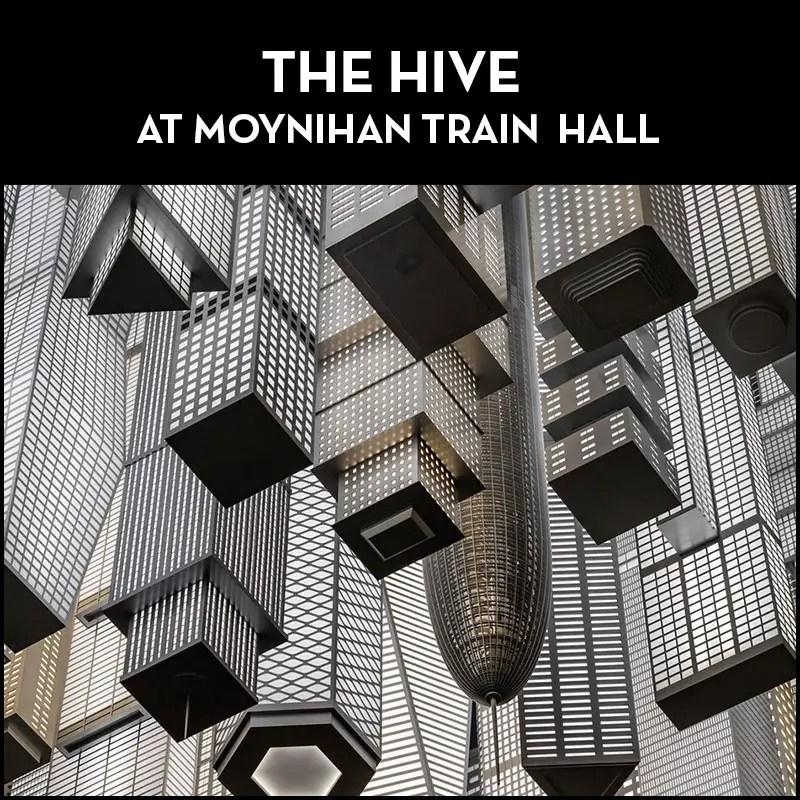 The Hive at moynihan train hall