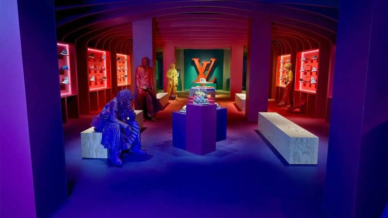 inside the LV temporary residence