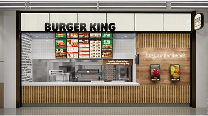 new instore design for burger king