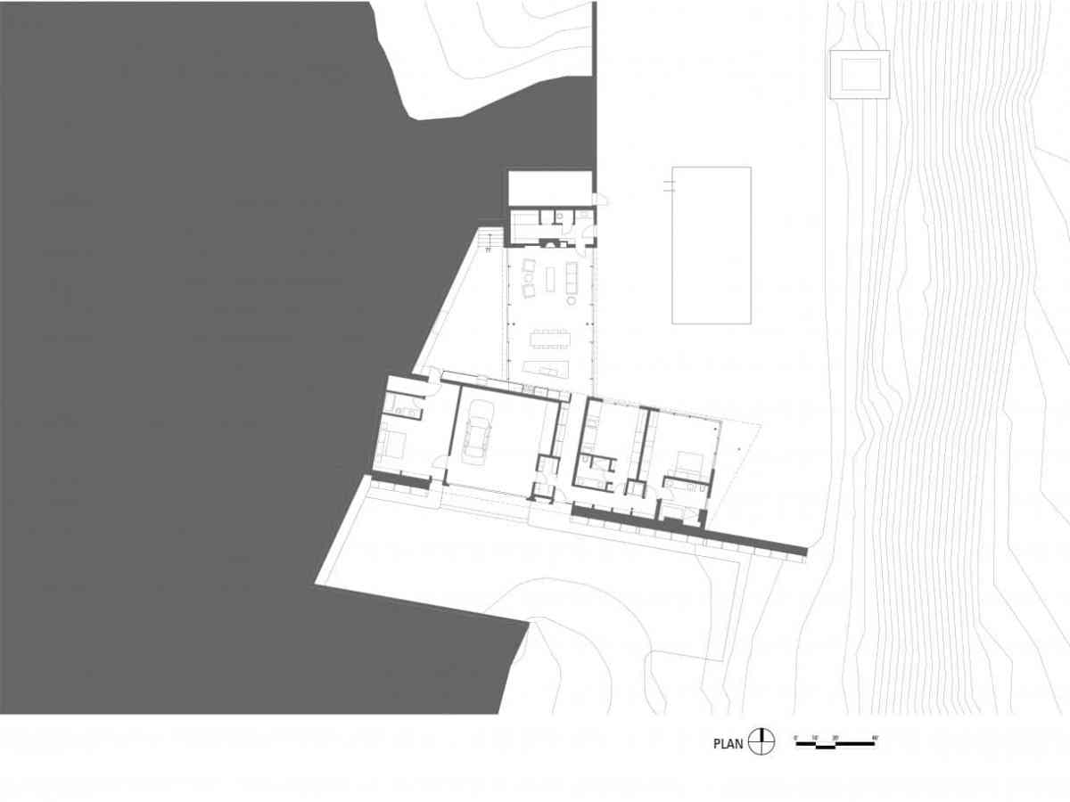 GLUCK+_House in the Mountains arch plans