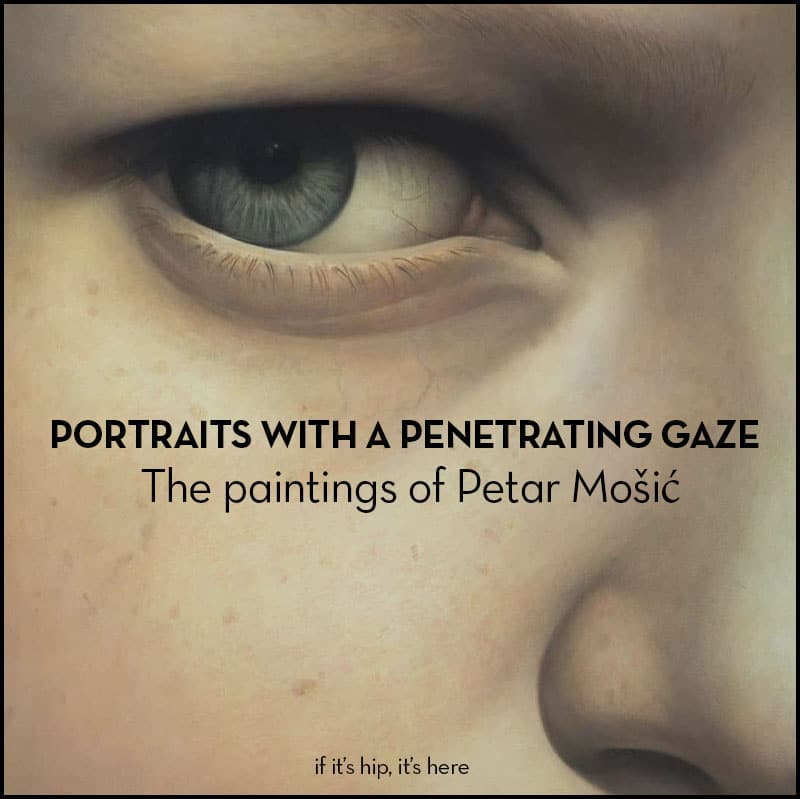 portraits with a penetrating gaze