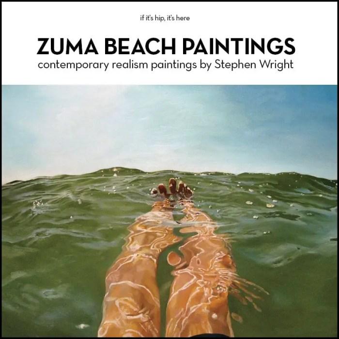 zuma beach paintings by stephen wright
