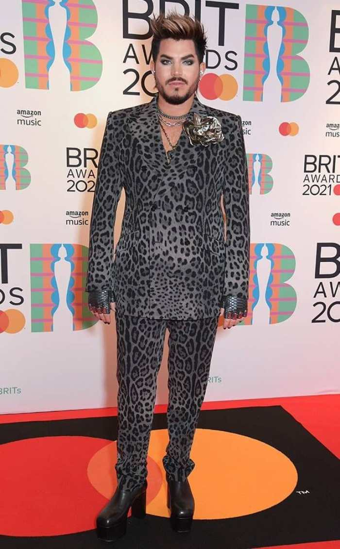 Adam lambert 2021 Brit Awards