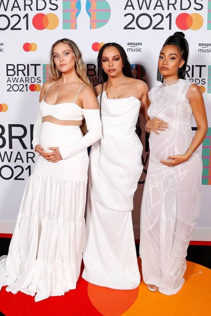Little Mix (best group) 2021 brit awards