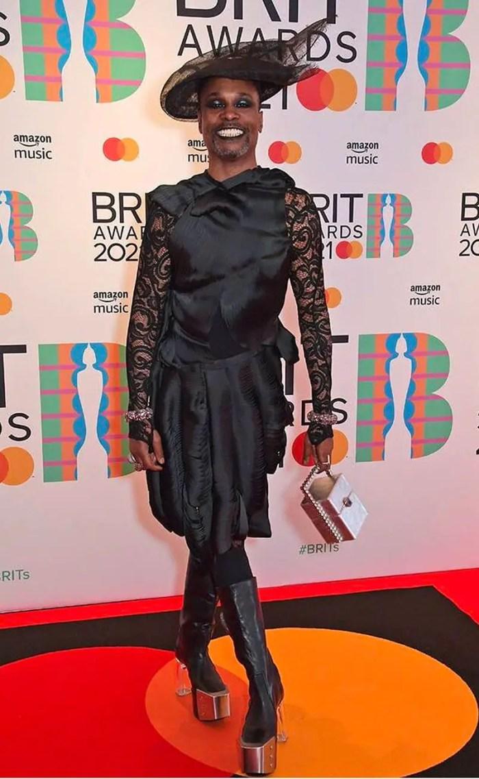 billy porter brit awards 2021 In ThreeASFOUR