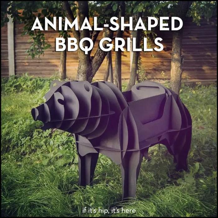 Animal BBQ grills
