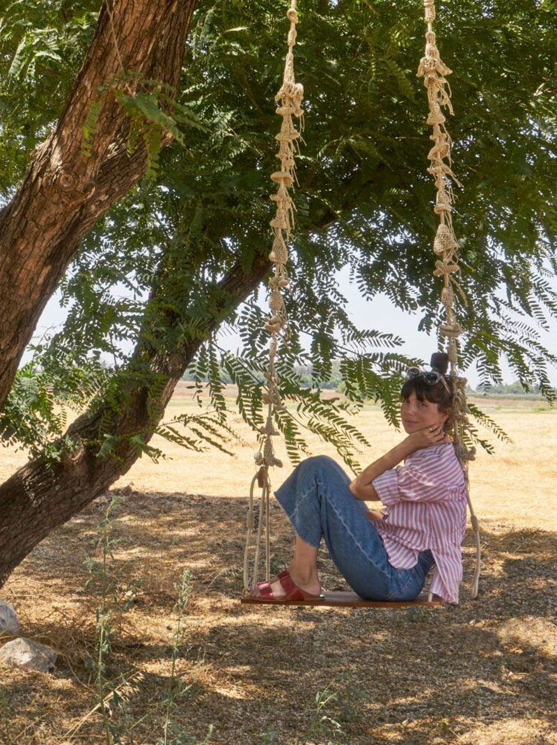 iota swing in a tree