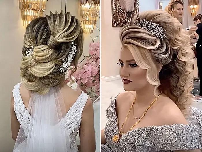 big bride hair from turkey