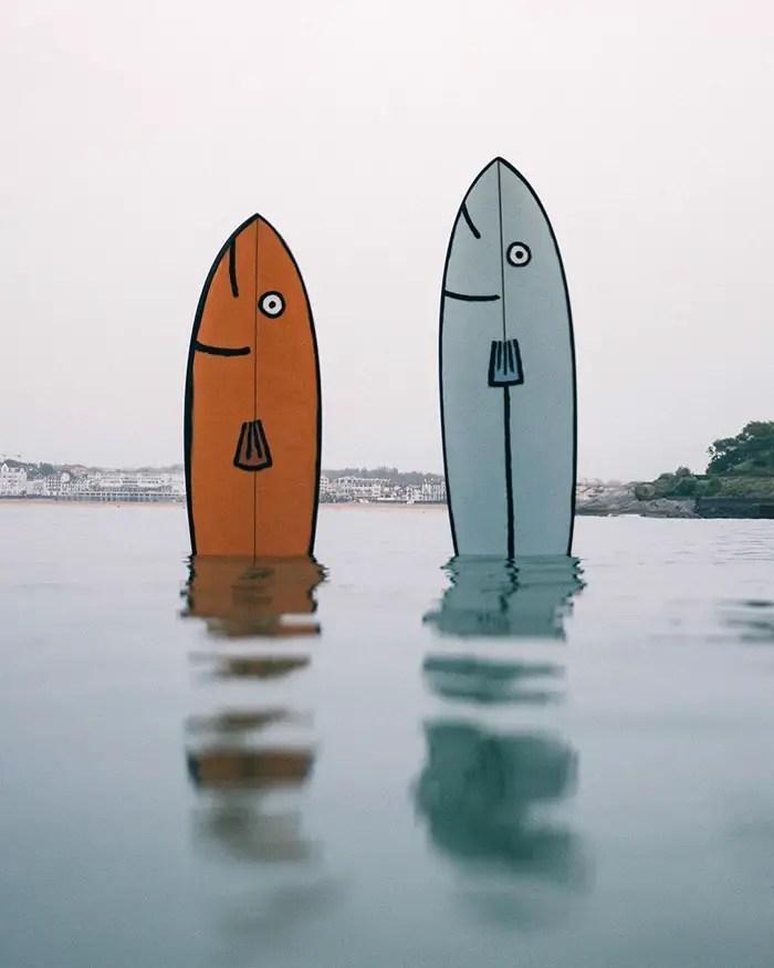 fish surfboards fernand and jean jullien