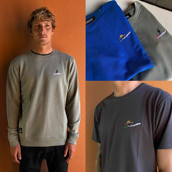 surfwear collection collaboration